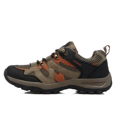 秋冬户外男士登山鞋 低帮防滑耐磨休闲男式运动鞋