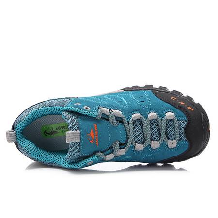 秋季新款女鞋 舒适户外登山运动鞋 女式低帮休闲登山鞋