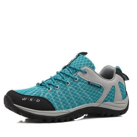春夏季新品户外徒步鞋 男式运动鞋透气网布休闲登山运动鞋