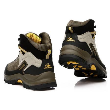 秋冬新款男鞋防水保暖户外鞋 舒适耐磨登山鞋徒步鞋