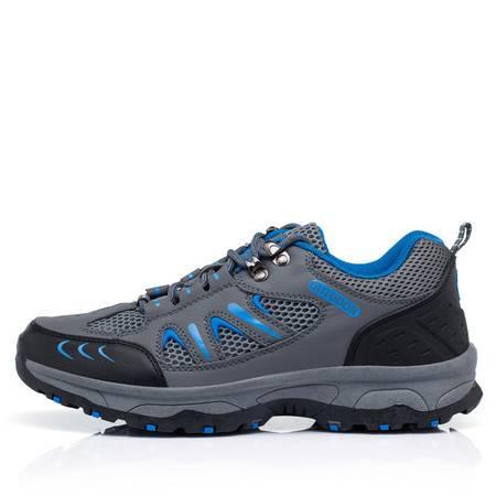 季新款户外登山徒步男鞋 休闲防滑透气鞋