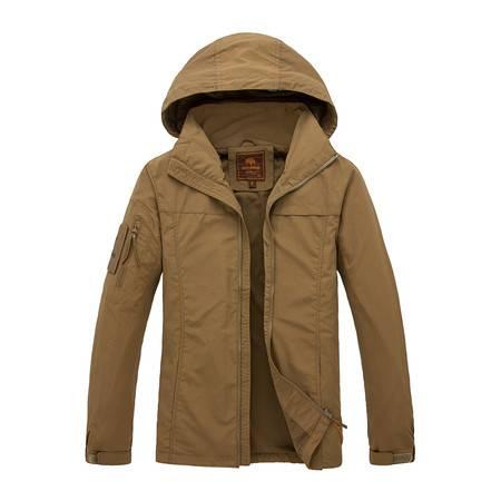 新款冲锋衣男士薄款防水户外旅行服透气