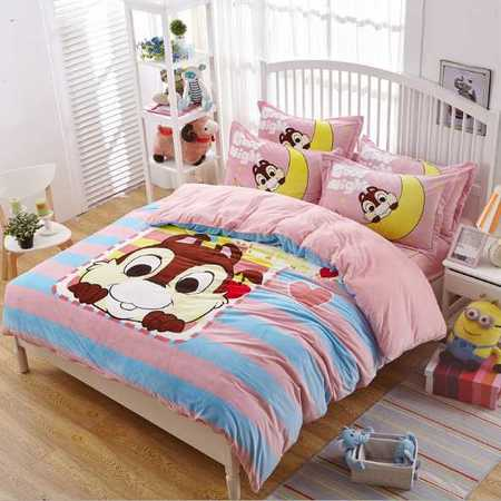 秋冬款水晶绒大版花系列四件套时尚卧室必备