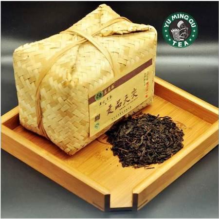 高品质安化昱茗谷贡品天尖700g竹篓黑茶