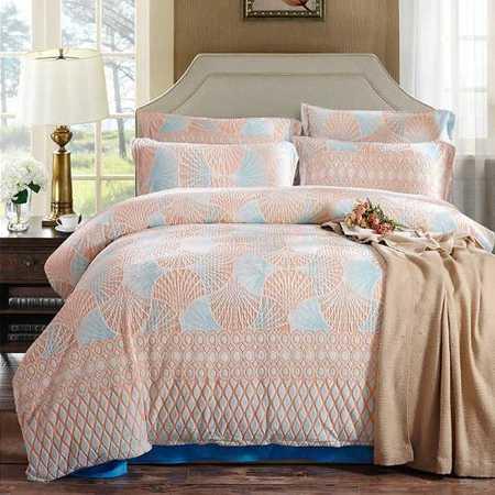 奢华高档3D雕花水晶绒四件套超柔加厚保暖四件套床单款