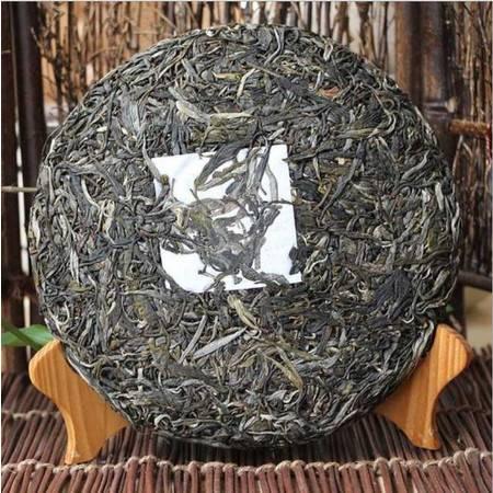 2015年邦崴百年古树茶纯料早春茶357克 云南普洱茶生茶饼茶