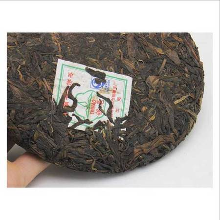 云南普洱茶 临沧银毫茶厂2007年银毫生茶 茶饼 357克
