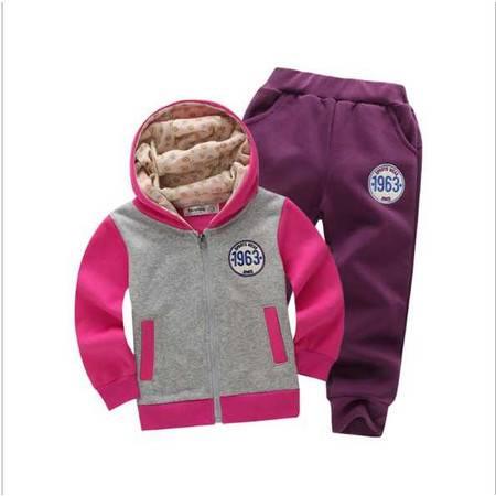 女童卫衣套装 春季新款 女童休闲套装