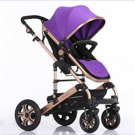最新爆款高景观豪华款婴儿推车