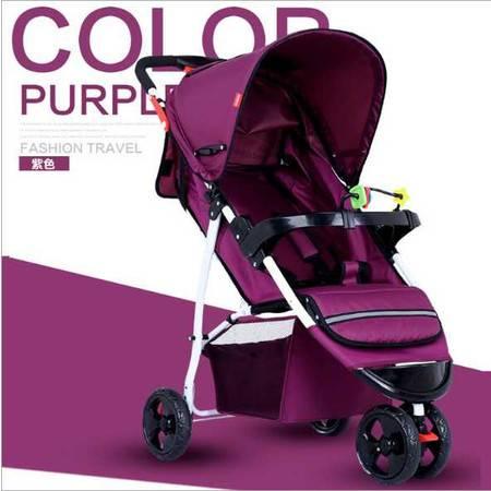 婴儿手推车轻便可折叠可坐可躺童车床伞车