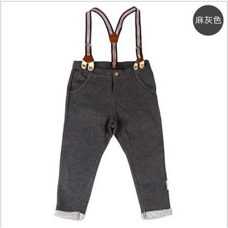 0-4岁婴幼儿男宝宝童装 英伦风儿童背带长裤童裤