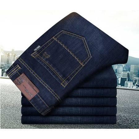 正品男式牛仔裤时尚直筒修身男装裤子牛仔长裤潮