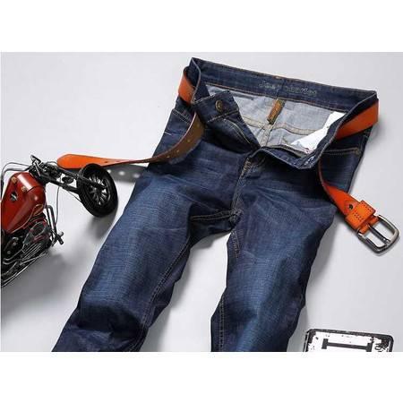 春夏牛仔裤薄款男装裤子正品直筒宽松大码