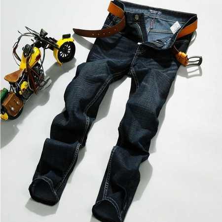正品牛仔裤时尚直筒修身牛仔长裤子青年秋季新款秋冬款