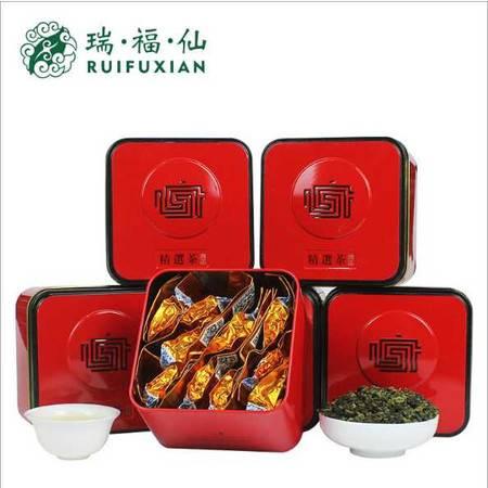 安溪铁观音礼盒装 瑞福仙浓香型铁观音暖茶礼盒装 正宗工艺