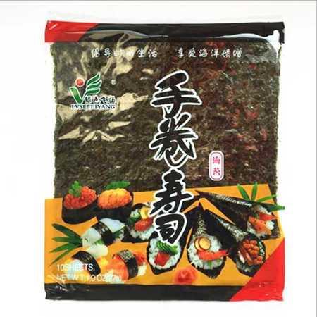 绿色飞扬手卷寿司海苔 海苔即食寿司海苔