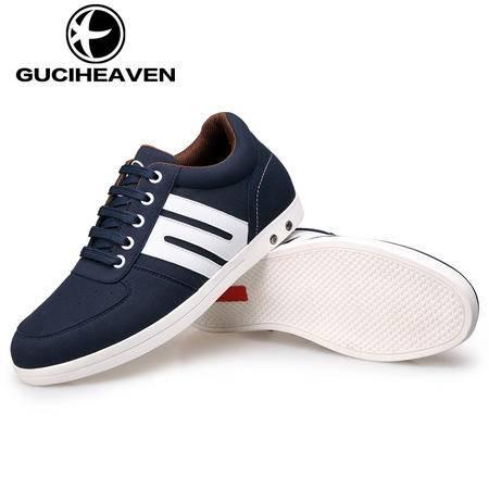 男鞋秋季男士增高鞋休闲潮鞋隐形内增高鞋子韩版运动板鞋