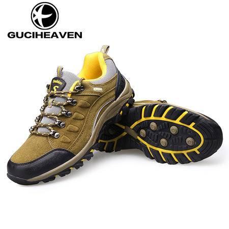 男鞋冬季新品户外运动登山鞋时尚潮流男士休闲徒步鞋