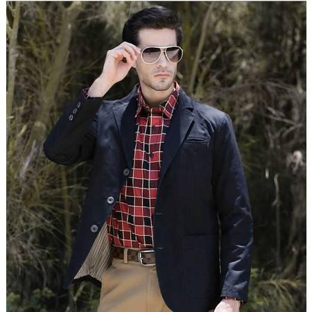 男士休闲西装 石狮时尚男装外套男士外套