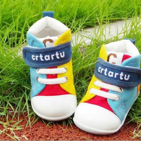 男女童鞋批发秋季新款儿童帆布鞋宝宝学步鞋透气防滑婴儿鞋