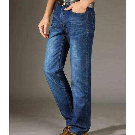正品品牌男装裤子春夏薄款长裤舒适透气牛仔男装