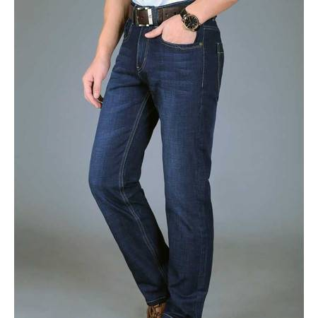 男式牛仔裤子蓝色时尚正品男装裤子