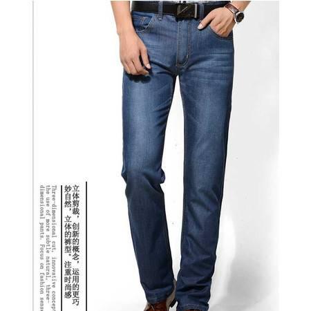 春季新款男式牛仔裤男式薄款牛仔长裤子潮