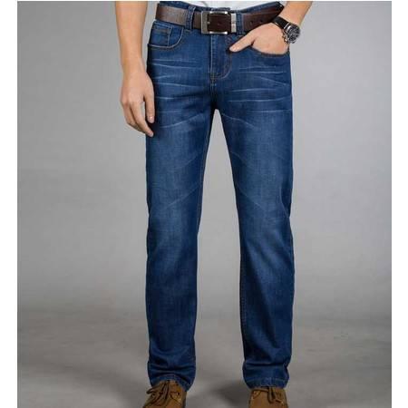 正品男式牛仔男裤子春夏新款男士直筒裤子