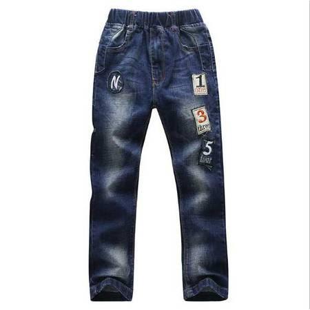 童装男童牛仔裤舒适透气简约大方