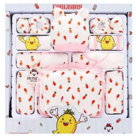 17件套婴儿衣服新生儿礼盒秋冬加厚母婴用品纯棉初生满月宝宝套装