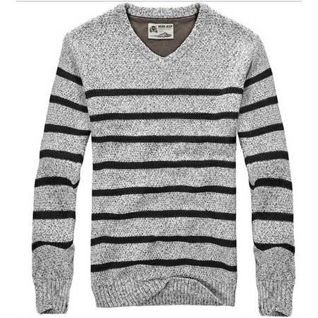 品牌男装秋冬新款男式毛衣男士羊毛衫针织衫休闲外套
