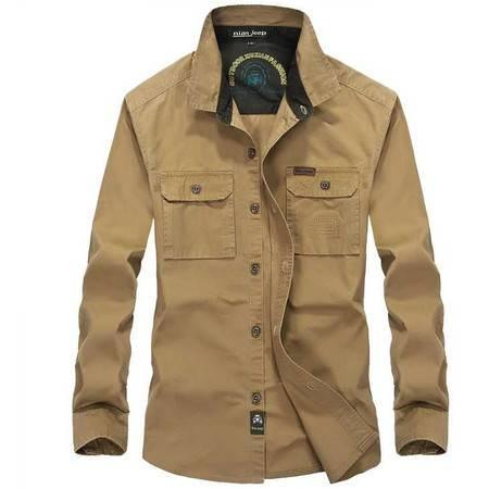 衬衫 男式纯棉长袖衬衫 秋季新款 男装