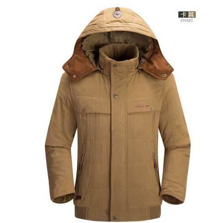 新款棉衣 男式纯棉短版棉衣 大码保暖棉衣 男装外套男