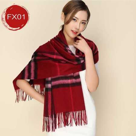 羊毛围巾女 秋冬新款男女通用羊毛羊绒围巾披肩