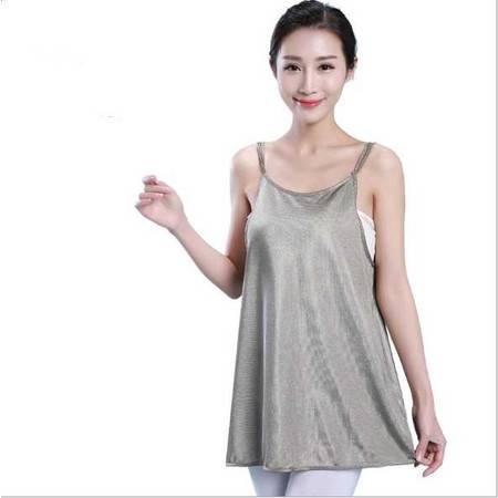 防辐射孕妇装春夏孕妇防辐射服正品银锂子纤维围裙防辐射吊带内穿