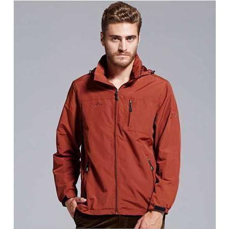 春夏薄款男夹克外套休闲 男装运动宽松男士速干上衣外套