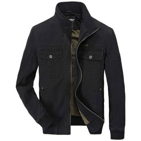 品牌男装新款正品时尚休闲春季男式夹克
