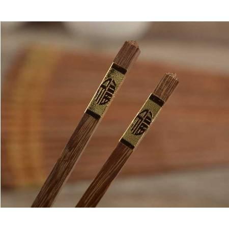 鸡翅木筷子 无漆中华筷 酒店用品餐具 红木实木筷