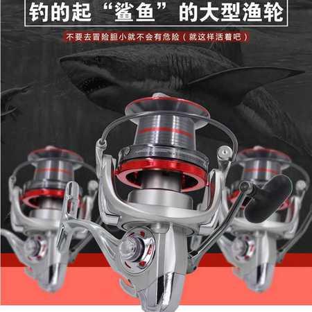GTS全金属主体大远投轮渔轮鱼线轮海竿轮船钓轮渔具