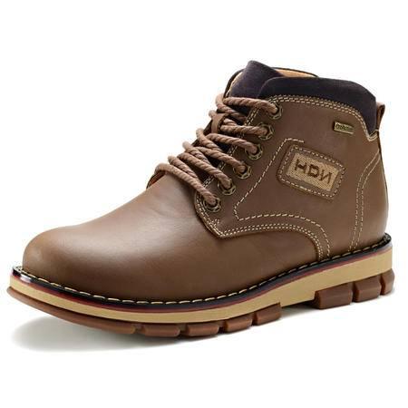 【今日秒杀】BALADY帕莱汀 个性英伦风格马丁男靴鞋 高帮时尚优质男鞋单鞋