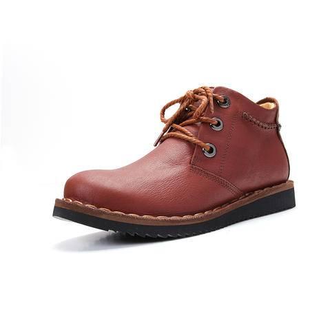 【特价新款】BALADY帕莱汀 新款男式豆豆鞋潮流真皮流行男鞋英伦休闲鞋皮鞋中帮单鞋子