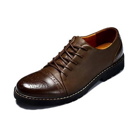 【天天特价】Guci古奇天伦 新款男士休闲鞋流行男鞋真皮皮鞋 商务休闲皮鞋英伦透气男鞋子潮流单鞋