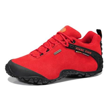 BALADY帕莱汀新款情侣款透气徒步鞋减震休闲户外耐磨防滑男鞋反绒登山鞋运动休闲低帮鞋