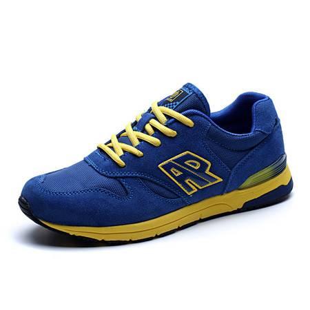 新款时尚男运动鞋休闲拼色跑步鞋