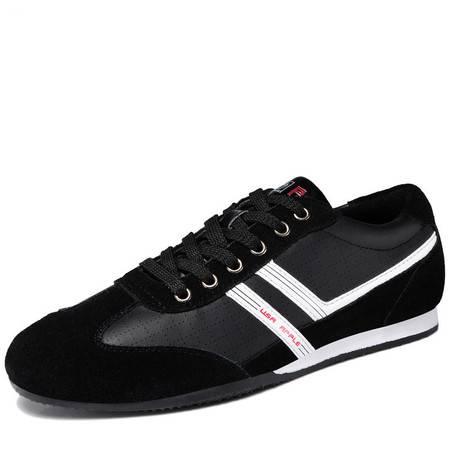 欧美休闲鞋轮胎底男鞋真皮鞋板鞋
