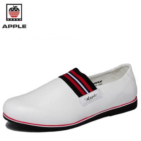 新款时尚套脚懒人鞋休闲男鞋新款
