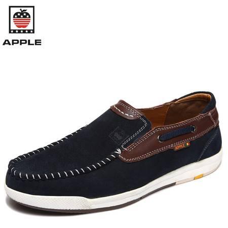 新款休闲鞋 英伦皮鞋 系带驾车鞋板鞋男鞋