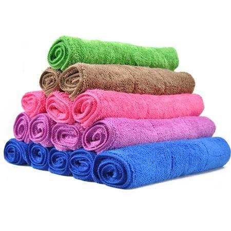安美弛 珊瑚绒毛巾 洗车擦车巾 打蜡抛光巾 车家多用 AM-2231 大号(30*60cm)5条装