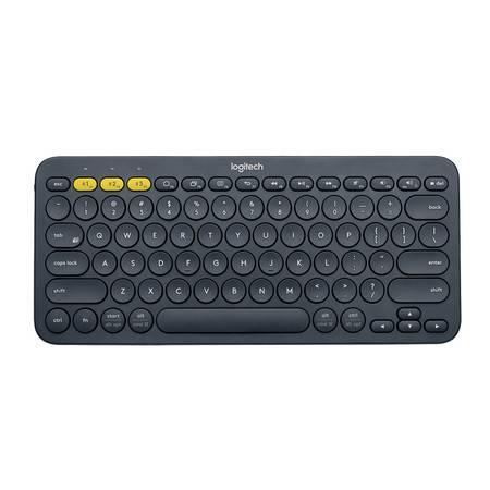 罗技K380多设备蓝牙键盘(深灰)