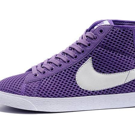 Nike耐克开拓者板鞋经典高帮女鞋网面透气休闲鞋579956-006